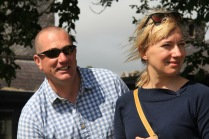 Richie Scott with Bojana