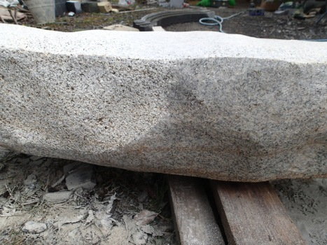 adding texture to surface with a bush hammer