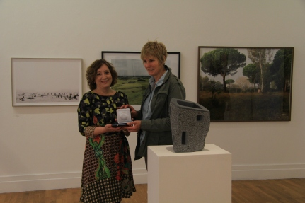 House by Eileen MacDonagh (showing off her prize medal)